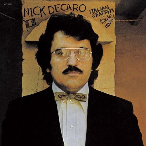 Nick DeCaro / Italian Graffiti (1974年) フロント・カヴァー