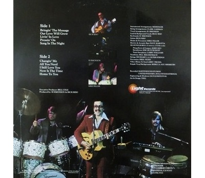 Messenger / Bringin' The Message (1978年) バック・カヴァー