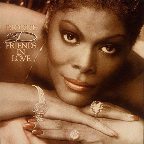Dionne Warwick / Friends In Love (1982年) フロント・カヴァー