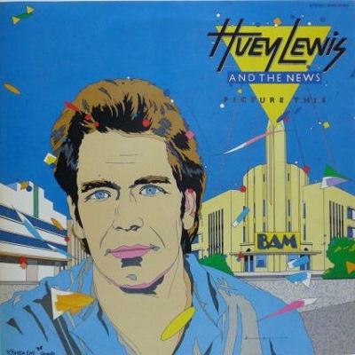 Huey Lewis and the News / Picture This (1981年) 日本盤フロント・カヴァー
