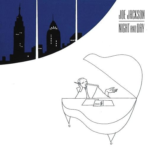 Joe Jackson / Night and Day (1982年) フロント・カヴァー