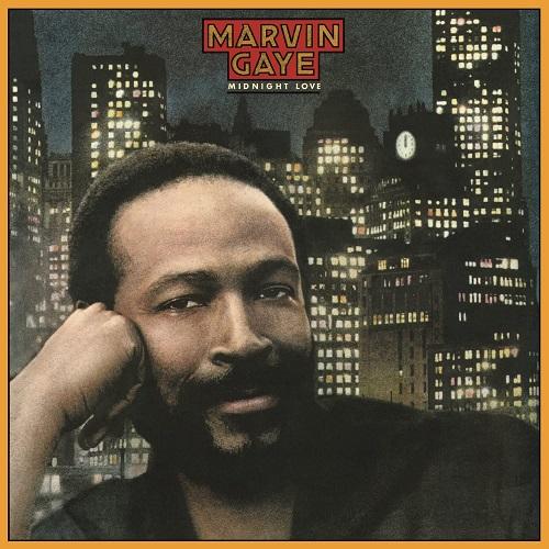 Marvin Gaye / Midnight Love (1982年) フロント・カヴァー