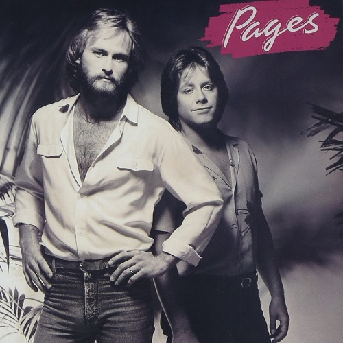 Pages / Pages (1981年) フロント・カヴァー