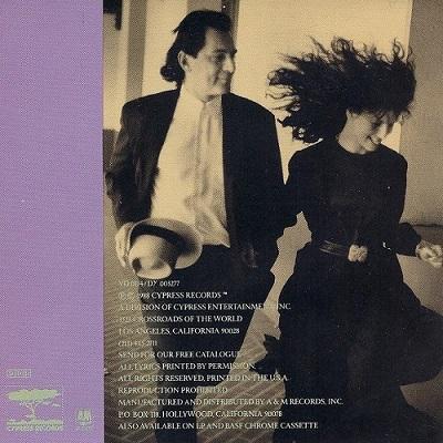 Kenny Rankin / Hiding In Myself (1988年) バック・カヴァー