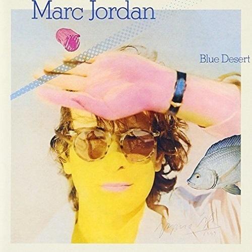 Marc Jordan / Blue Desert (1979年) フロント・カヴァー