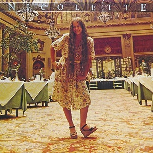 Nicolette Larson / Nicolette (愛しのニコレット) (1978年) フロント・カヴァー