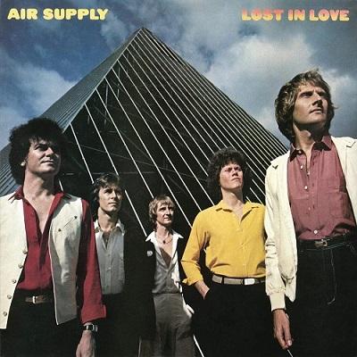 Air Supply / Lost In Love (1980年) オリジナル・フロント・カヴァー