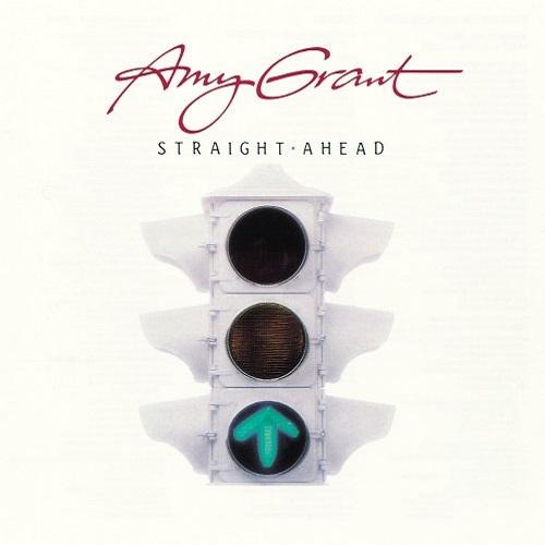 Amy Grant / Straight Ahead (1984年) フロント・カヴァー