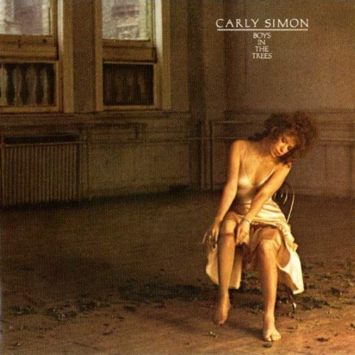 Carly Simon / Boys In The Trees (1978年) フロント・カヴァー