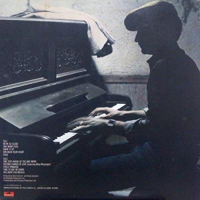 Randy Goodrum / Fool's Paradise (1982年) バック・カヴァー