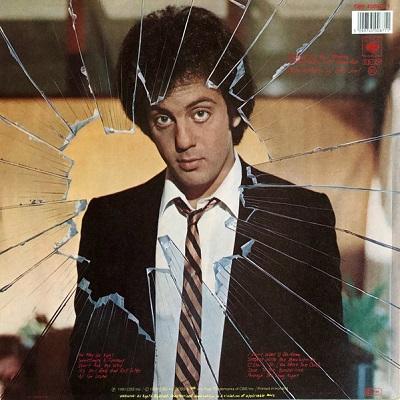 Billy Joel / Glass Houses (グラス・ハウス) (1980年) バック・カヴァー