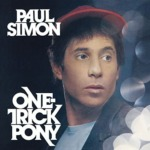 Paul Simon / One Trick Pony (1980年) フロント・カヴァー