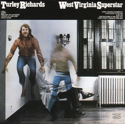 Turley Richards / West Virginia Superstar (1976年) フロント・カヴァー