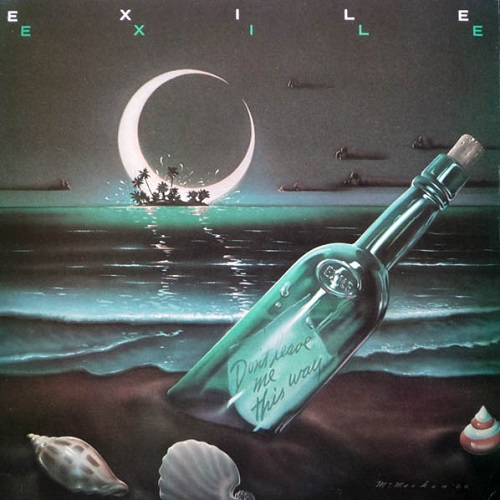 Exile / Don't Leave Me This Way (1980年) フロント・カヴァー