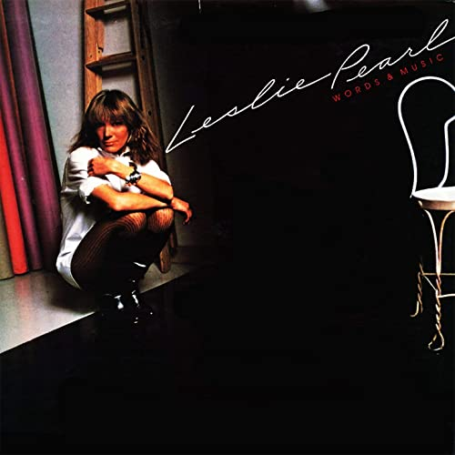 Leslie Pearl / Words & Music (1982年) フロント・カヴァー